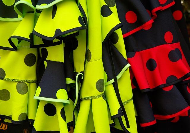フラメンコの衣装