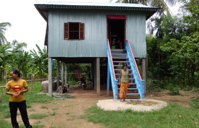 カンボジア伝統建築