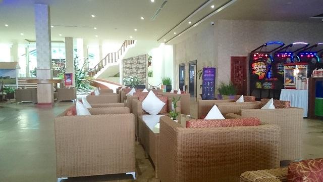山頂のカジノホテル