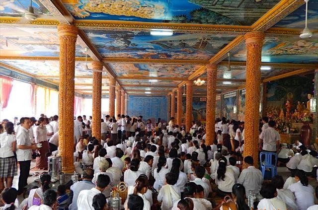 プチュンバン(カンボジアのお盆)