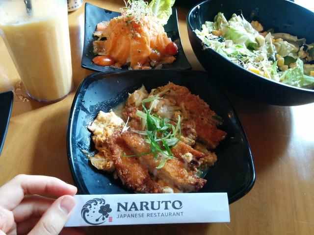 日本料理:naruto