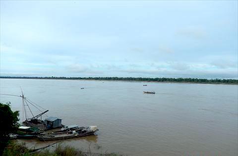 クラチェのメコン川