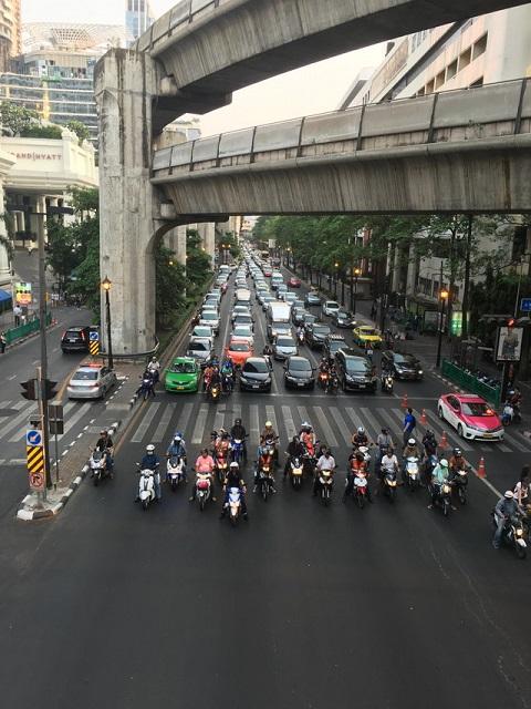バンコクのバイク
