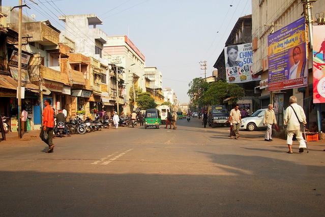 *バンガロールの街の様子