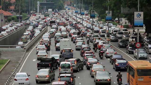 マレーシアの渋滞