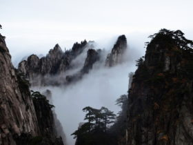 中国の霊山 黄山