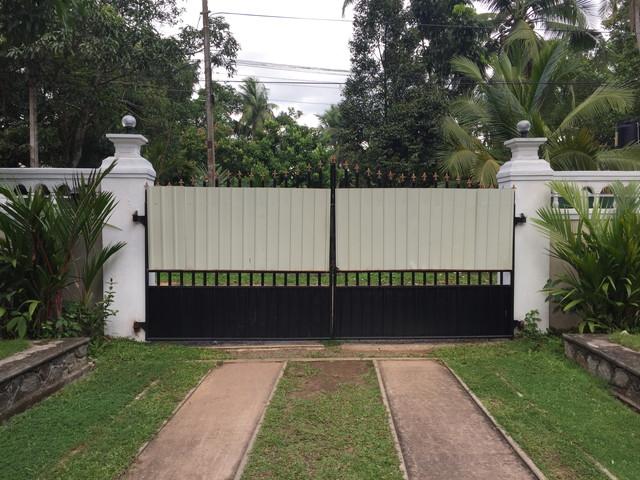 スリランカの家の門