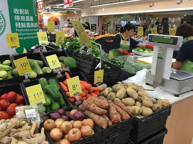 香港のローカルスーパー