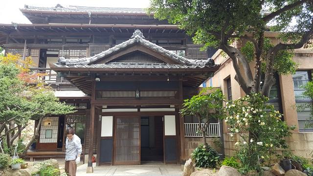 釜山水晶洞日本式家屋