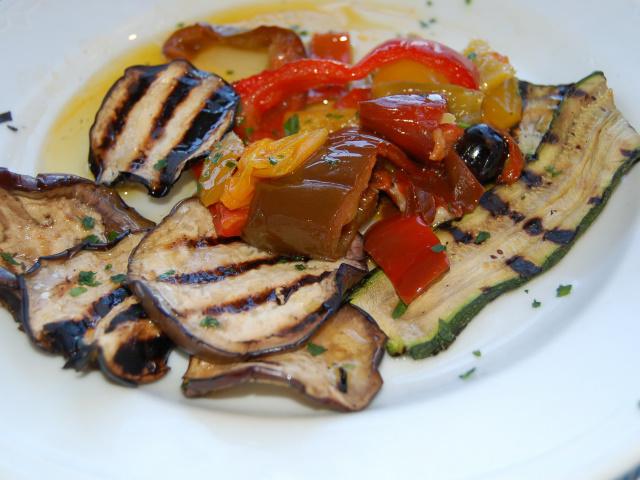 野菜のオイル漬け