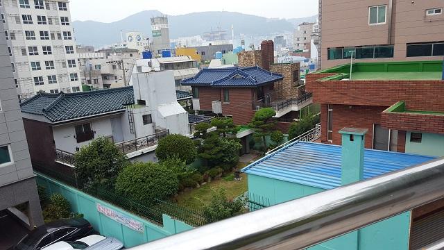 釜山の住宅地