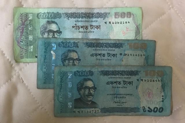 バングラディッシュのお金