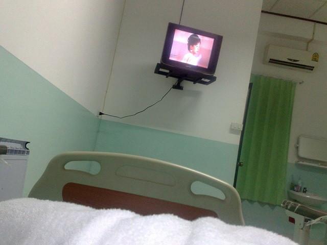 ラオスの病院
