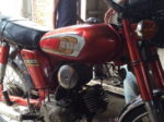 バングラディシュのバイク