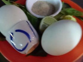 カンボジアの珍味