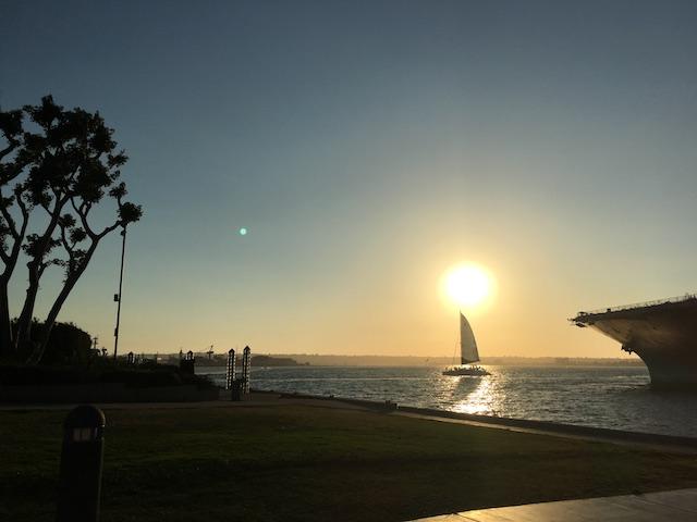 サンディエゴの港