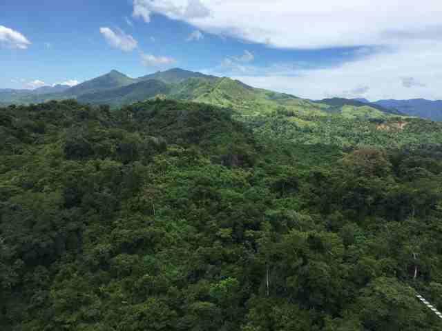 フィリピンの山