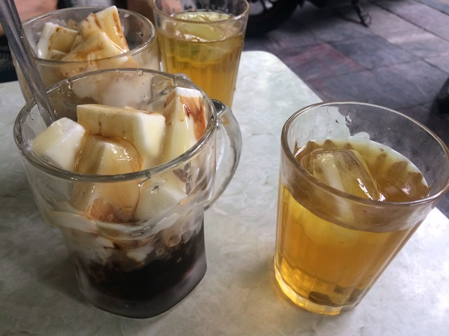 凍らすタイプのヨーグルト・コーヒー