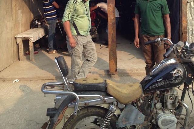 中古のバイク