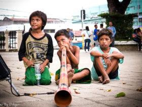 バジャウ族の子供
