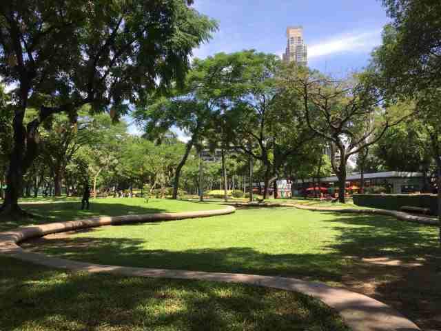 マニラの公園