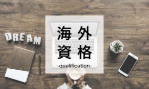 海外就職の資格