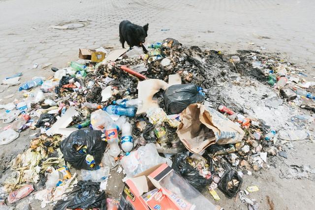 スラム街のゴミ