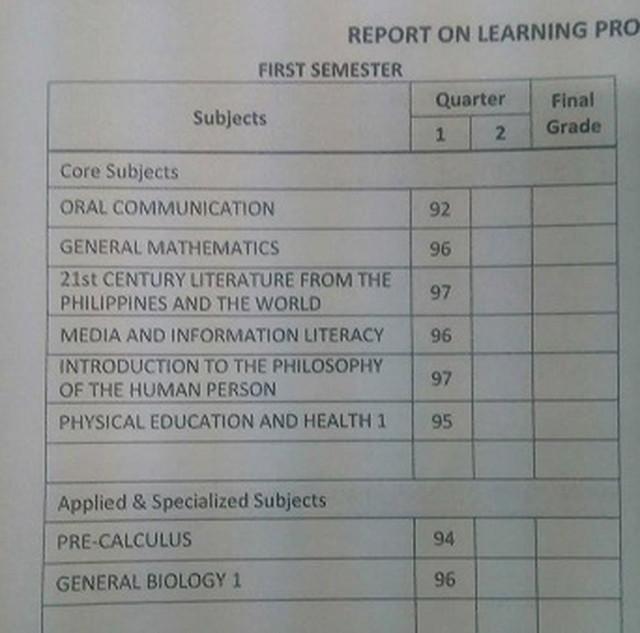英語のリポート