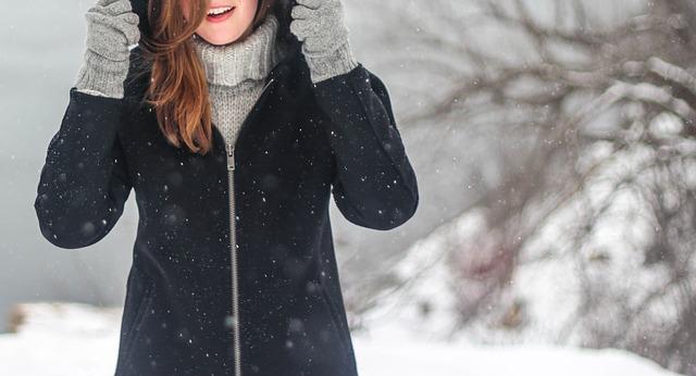 パリでの冬服