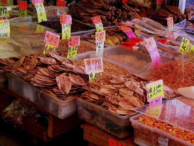 香港の食材