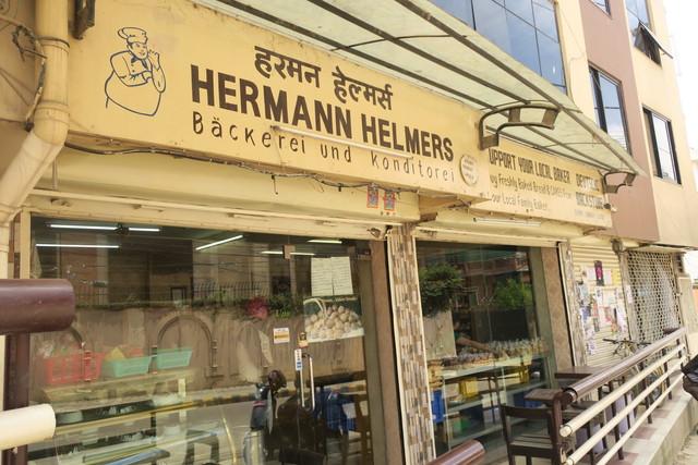 スイーツ店「HERMAN HELMERS」