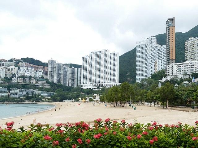 香港のビーチ