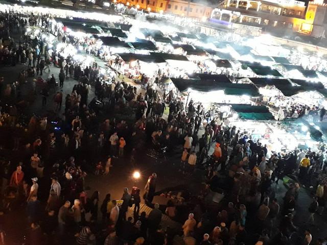 モロッコのマーケット