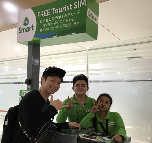 SIMカード売り場