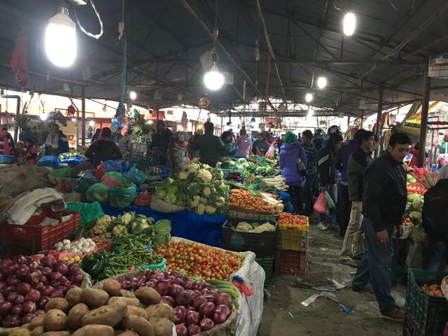 カトマンズ最大の野菜市場「カリマティ」