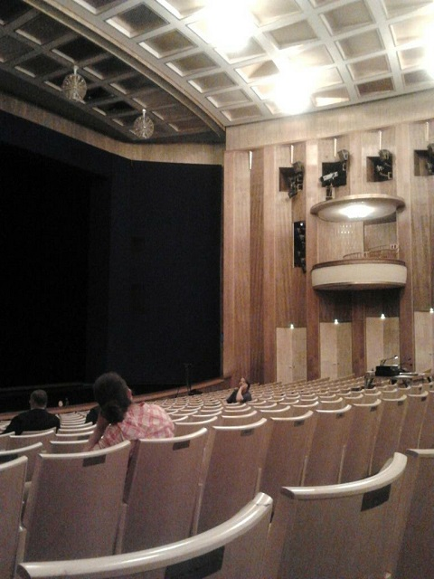 ライプツィヒのオペラ座内部