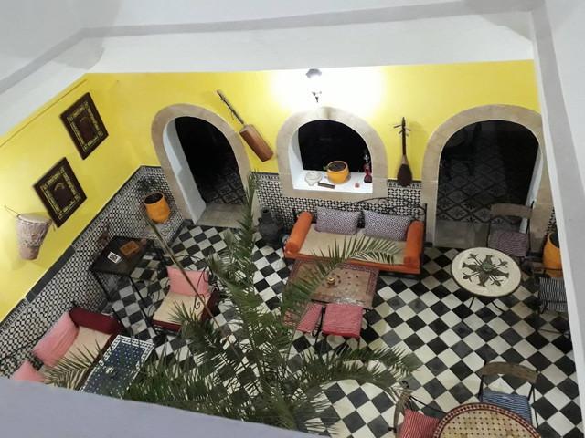 モロッコのホテル
