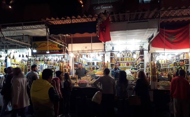 モロッコの夜市