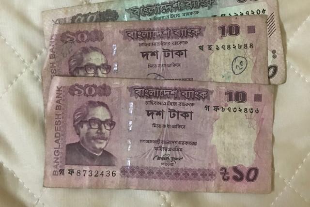 バングラディシュのお金