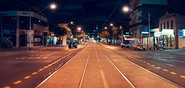 メルボルンのストリート