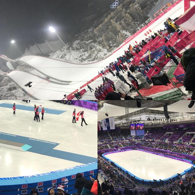 オリンピック観戦