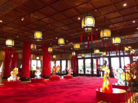 台北の建物内部