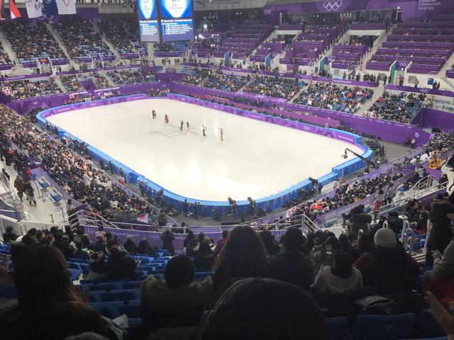 スケート競技場