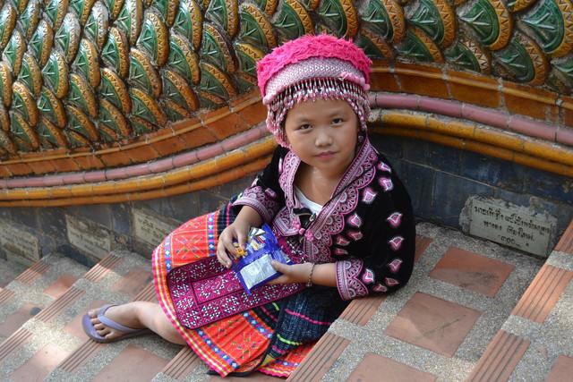 モン族の子ども
