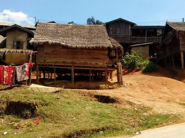 ラオスの家