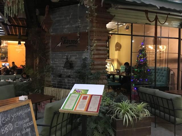 カフェ「Tummo Cafe」