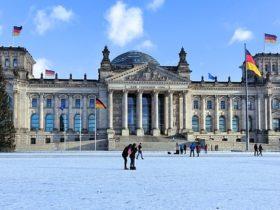 冬のベルリン