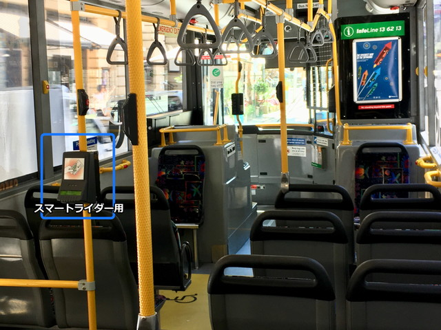 バスの内装