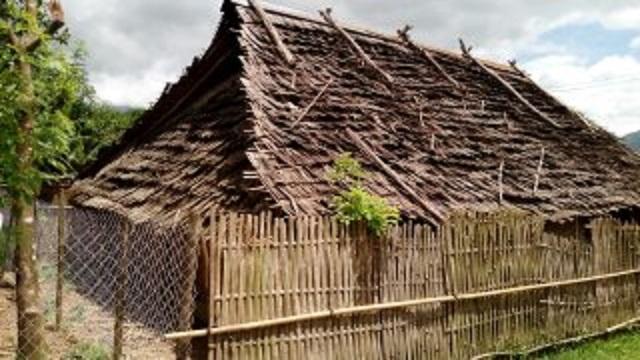 モン族の住宅