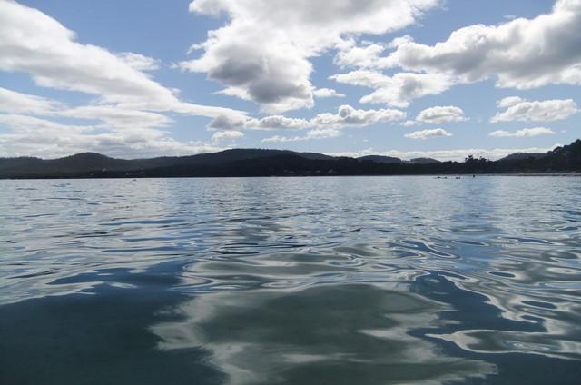 タスマニアの湖